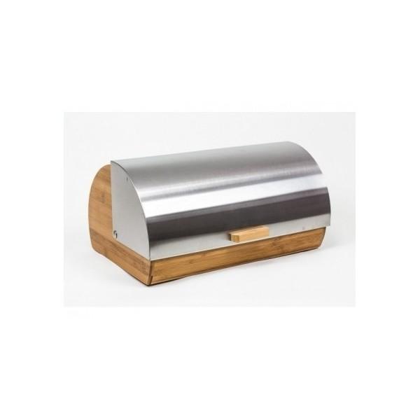 Satino dizaino metalo ir bambuko duoninė