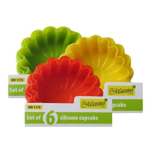 Šešių silikoninių formų rinkinys