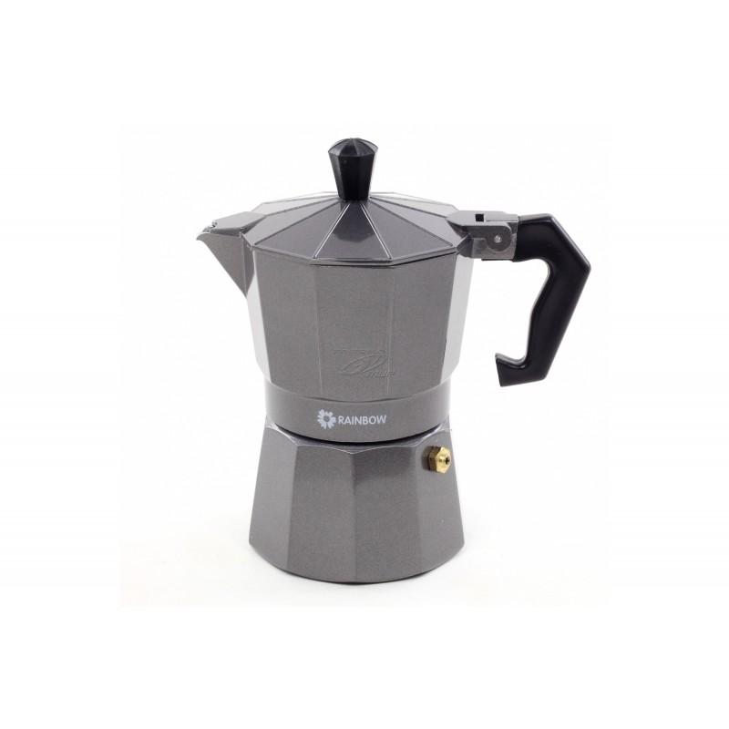 Espresso kavinukas Maestro. Iš aliuminio. 3 puodeliams