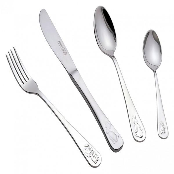 4 dalių stalo įrankių rinkinys vaikams Berghoff Virtuvės Įrankių Rinkiniai Berghoff