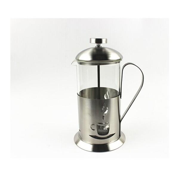 Indas kavai/arbatai su stūmokliu 800ml Nuspaudžiamas kavinukas