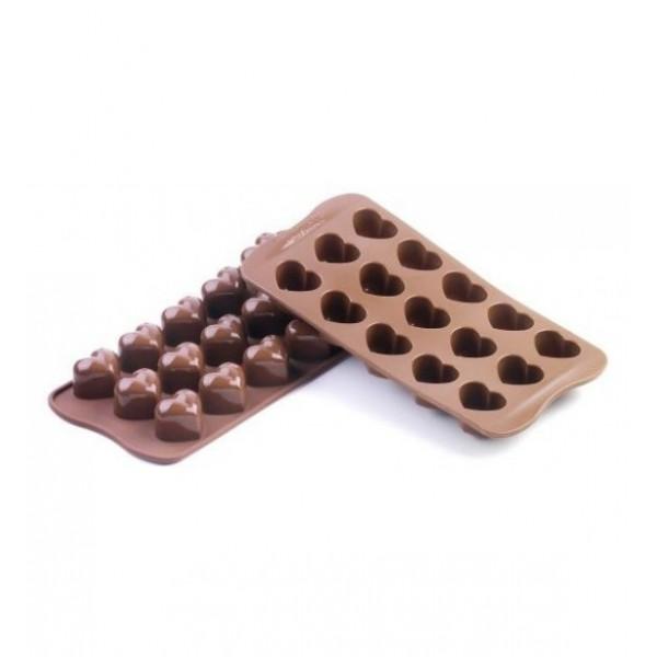 Silikoninė formelė šokoladui MONAMOUR, Silikomart