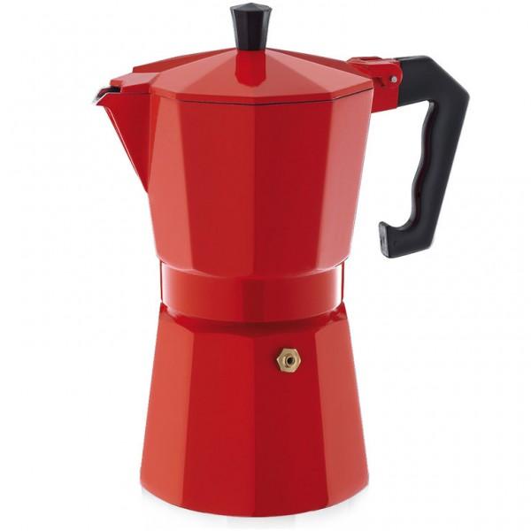 Espreso kavinukas 6 puodeliai raudonas, Cilio-Vokietija