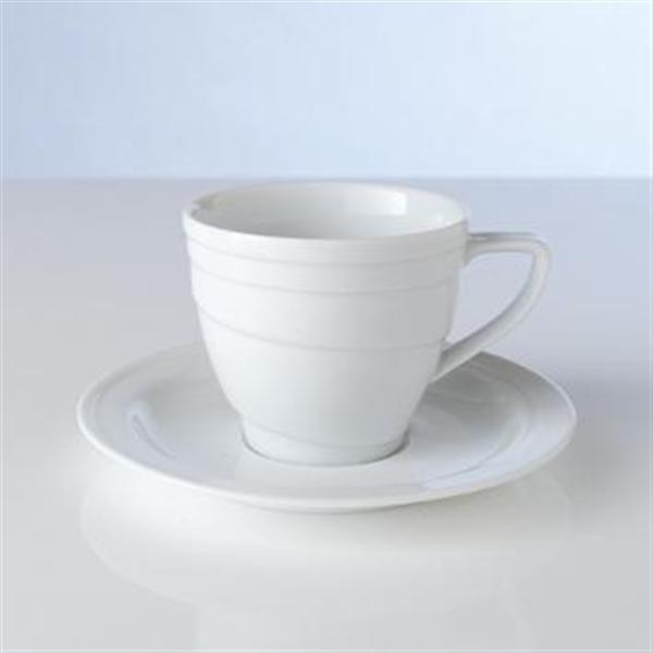 Puodelis kavai su lėkštute 120 ml,  Berghoff